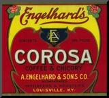 Engelhard's Coffee Label - Louisville, KY