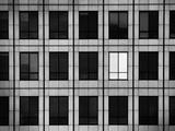 Single Lighted Window in Skyscraper