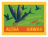 Flying Fish, Aloha Hawaii, c.1940
