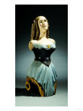 A Painted and Carved Ship's Figurehead, American, Late 19th Century