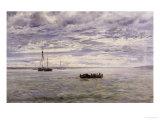Chesil Beach, Rain Clearing Off, 1883