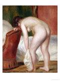 Female Nude Drying Herself, circa 1909