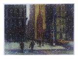 Wall Street Blizzard, New York City