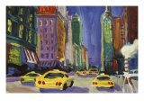 Racing Taxis, New York City