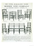 The Sussex Rush-Seated Chairs, Made by Morris and Company