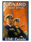 Cunard Line, Express Service