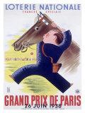 Grand Prix Horse Race, Paris