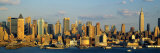 Hudson River, City Skyline, New York City, New York State, USA