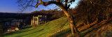 Church on a Landscape, Rievaulx Abbey, North Yorkshire, England, United Kingdom