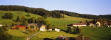High Angle View of a Village, Black Forest, Baden-Wurttemberg, Germany