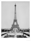 The Eiffel Tower Photographed During the Universal Exhibition of 1889 in Paris