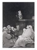 """What a Golden Beak!, Plate 53 of """"""""Los Caprichos"""""""", 1799"""