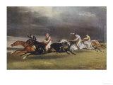 Horse Race in Progress