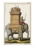 Elephant Employed in War by Indians in Ancient Times