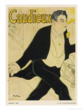 Poster for Caudieux French Music-Hall Entertainer