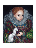 Queen Elizabeth I and an Ermine - a Tudor Portrait