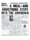 A Meal, and Armstrong Steps into the Unknown