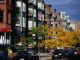 City Street, Boston, Massachusetts, USA