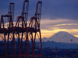 Elliot Bay Industrial Waterfront, Seattle, Washington, USA