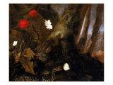 Underbrush with Animals, Uffizi Gallery, Florence