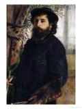 Portrait of Claude Monet with Palette, 1875