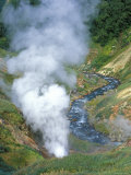 The Bolshoi / Greater Geyser Erupting, Geyser Valley, Kronotsky Zapovednik, Russia
