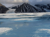 High Arctic Landscape in Spring, -40 Degrees C, Bylot Is, Baffin Is, North West Territories, Canada