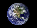 Full Earth Showing North America