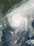August 29, 2005, Hurrican Katrina Over the Gulf Coast