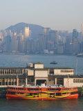 Star Ferry Pier, Kowloon, Hong Kong, China
