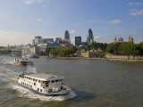City Skyline from Tower Bridge, London, England, United Kingdom