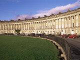 Royal Crescent, Bath, Unesco World Heritage Site, Avon, England, United Kingdom