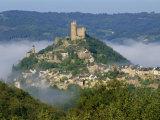 Castle, Najac, Aveyron, Midi Pyrenees, France