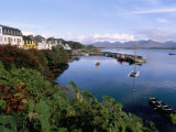 Fishing Port, Roundstone Village, Connemara, County Galway, Connacht, Eire (Ireland)