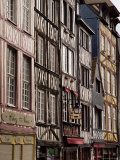 Timber-Framed Houses and Shops in the Restored City Centre, Rouen, Haute Normandie, France
