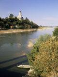 River Loire and St. Florent Le Veille, Western Loire, Pays De La Loire, France