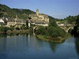 Village of Estaing, Aveyron, Midi Pyrenees, France