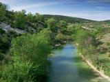 River Herault, Near St. Guilhem Le Desert, Languedoc-Roussillon, France