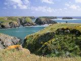 Port Goulphar, Belle Ile En Mer, Breton Islands, Morbihan, Brittany, France Europe