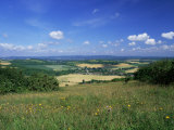 South Harting from the South Downs Way, Harting Down, West Sussex, England, United Kingdom
