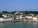 Port Sauzon, Belle Ile En Mer, Breton Islands, Morbihan, Brittany, France