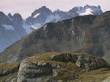 Col d'Iseran, Savoie, Rhone Alpes, France