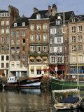 Vieux Bassin (Old Port), Honfleur, Normandy, France