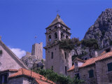 Bell Tower and Fortress, Omis, Makarska Riviera, Croatia