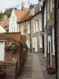 Terraced Houses in Chapel Street, Robin Hood's Bay, England