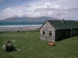 Wooden House, Laig Bay, Isle of Eigg, Inner Hebrides, Scotland, United Kingdom