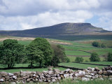 View of Pen-Y-Ghent, Ribblesdale, Yorkshire, England, United Kingdom
