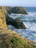 Pointe De Port Coton, Belle Ile En Mer, Breton Islands, Morbihan, Brittany, France