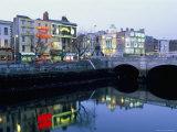 Aston Quay, Liffey River, Dublin, County Dublin, Eire (Ireland)