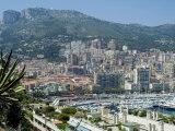 View from Condamine Port Over Monaco